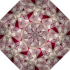 Morocco Motif Pattern Travel Hook Handle Umbrellas (medium)