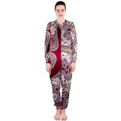 Morocco Motif Pattern Travel Onepiece Jumpsuit (ladies)
