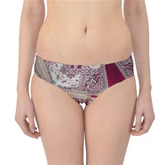 Morocco Motif Pattern Travel Hipster Bikini Bottoms