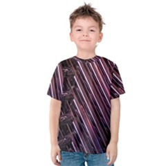 Metal Tube Chair Stack Stacked Kids  Cotton Tee