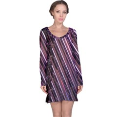 Metal Tube Chair Stack Stacked Long Sleeve Nightdress