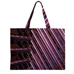 Metal Tube Chair Stack Stacked Large Tote Bag