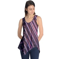 Metal Tube Chair Stack Stacked Sleeveless Tunic