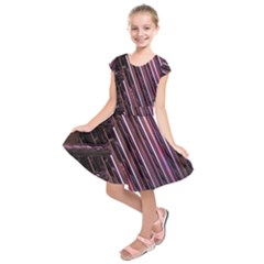 Metal Tube Chair Stack Stacked Kids  Short Sleeve Dress