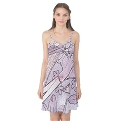 Newspaper Patterns Cutting Up Fabric Camis Nightgown