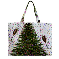 New Year S Eve New Year S Day Zipper Mini Tote Bag