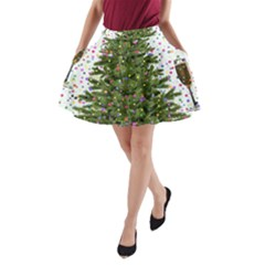 New Year S Eve New Year S Day A-Line Pocket Skirt