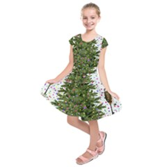 New Year S Eve New Year S Day Kids  Short Sleeve Dress