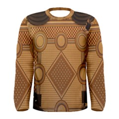 Mosaic The Elaborate Floor Pattern Of The Sydney Queen Victoria Building Men s Long Sleeve Tee