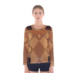 Mosaic The Elaborate Floor Pattern Of The Sydney Queen Victoria Building Women s Long Sleeve Tee