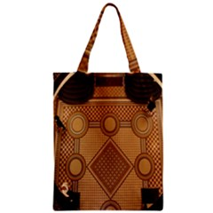 Mosaic The Elaborate Floor Pattern Of The Sydney Queen Victoria Building Zipper Classic Tote Bag
