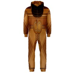 Mosaic The Elaborate Floor Pattern Of The Sydney Queen Victoria Building Hooded Jumpsuit (Men)