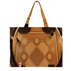 Mosaic The Elaborate Floor Pattern Of The Sydney Queen Victoria Building Zipper Large Tote Bag