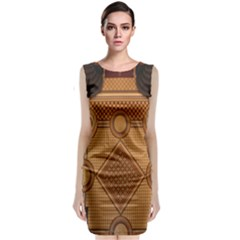 Mosaic The Elaborate Floor Pattern Of The Sydney Queen Victoria Building Classic Sleeveless Midi Dress