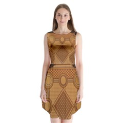 Mosaic The Elaborate Floor Pattern Of The Sydney Queen Victoria Building Sleeveless Chiffon Dress