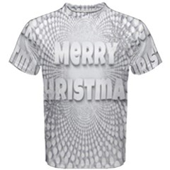Oints Circle Christmas Merry Men s Cotton Tee
