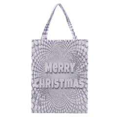 Oints Circle Christmas Merry Classic Tote Bag