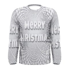 Oints Circle Christmas Merry Men s Long Sleeve Tee
