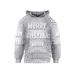 Oints Circle Christmas Merry Kids  Pullover Hoodie