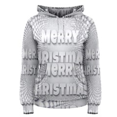 Oints Circle Christmas Merry Women s Pullover Hoodie
