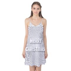 Oints Circle Christmas Merry Camis Nightgown