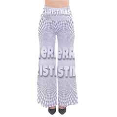 Oints Circle Christmas Merry Pants