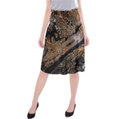 Night View Midi Beach Skirt