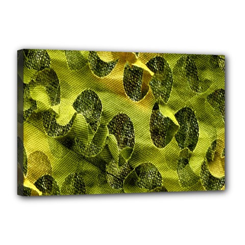Olive Seamless Camouflage Pattern Canvas 18  x 12