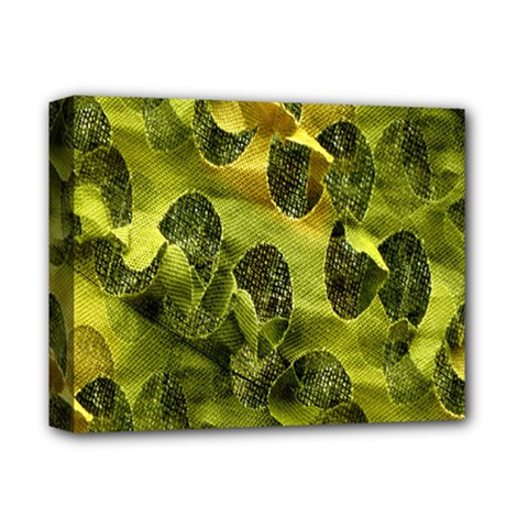 Olive Seamless Camouflage Pattern Deluxe Canvas 14  X 11