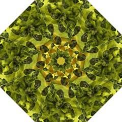 Olive Seamless Camouflage Pattern Hook Handle Umbrellas (large)