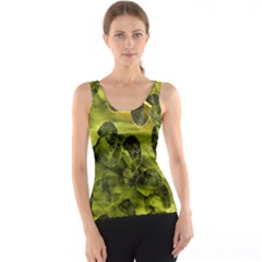 Olive Seamless Camouflage Pattern Tank Top