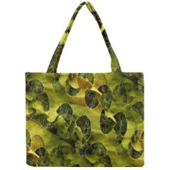 Olive Seamless Camouflage Pattern Mini Tote Bag