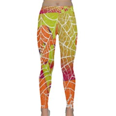 Orange Guy Spider Web Classic Yoga Leggings