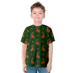Paisley Pattern Kids  Cotton Tee