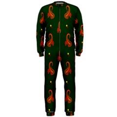 Paisley Pattern Onepiece Jumpsuit (men)