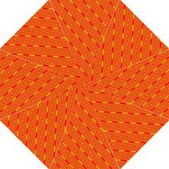Orange Pattern Background Straight Umbrellas