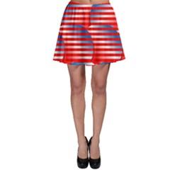 Patriotic  Skater Skirt