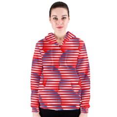 Patriotic  Women s Zipper Hoodie