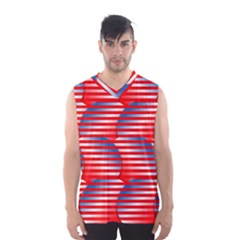 Patriotic  Men s Basketball Tank Top