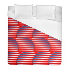 Patriotic  Duvet Cover (full/ Double Size)