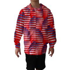 Patriotic  Hooded Wind Breaker (Kids)