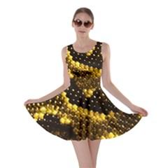 Pattern Skins Snakes Skater Dress