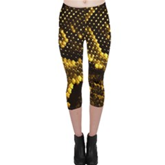 Pattern Skins Snakes Capri Leggings