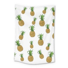 Pineapples Pattern Small Tapestry
