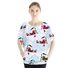 Airplanes pattern Blouse