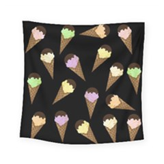 Ice Cream Cute Pattern Square Tapestry (small)