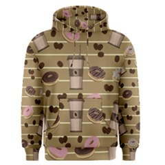 Coffee And Donuts  Men s Pullover Hoodie