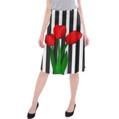 Tulips Midi Beach Skirt