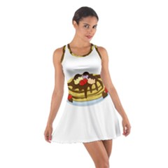 Pancakes - Shrove tuesday Cotton Racerback Dress