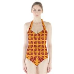Lipsmackin Good Halter Swimsuit